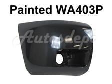 Painted WA403P Front Bumper End Cap RH For 2009-12 Chevy Silverado 1500 w/Fog Ho