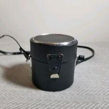 Vintage Vivitar Hard Case Wide Angle Lens With Strap