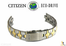 Citizen Eco-Drive EU2674-55D Stainless Steel (Two-Tone) Watch Band Strap