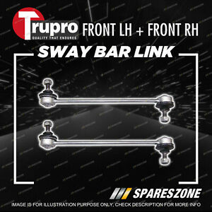 Pair Trupro Front Sway Bar Links for Peugeot 206 CC GTI XR XT Convertible Hatch