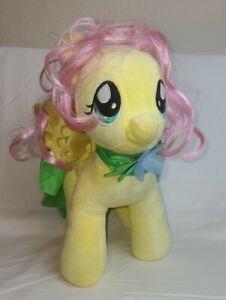 "My Little Pony Fluttershy Yellow Pegasus Flower Cape 16"" Plush Build a Bear"