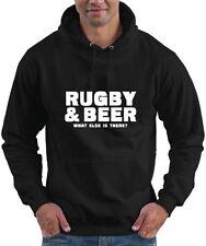Cotton Hooded Rugby Hoodies & Sweats for Men Regular