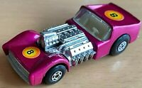 Matchbox Lesney Superfast No19 ROAD DRAGSTER in METALLIC PURPLE - VNM
