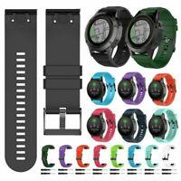 Für Garmin Fenix 5X 5S 5 Plus GPS Watch Uhrenarmband Armband Strap Silikon MV