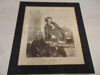 This Saintly Woman - Honore Daumier Les Gens De Justice lithograph print courts