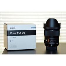 Sigma AF 35mm f/1.4 DG HSM Art Lens for Sony E ship from EU Nuevo