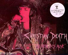 LP - Christian Death - The Heretics Alive (Deathrock) LIM.EDIT NUMBERED:Nº: 9304