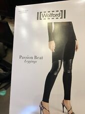 Wolford Black Passion Beat Leggings 34 4