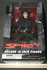 "Mezco Toyz The Spirit Deluxe 12"" Action Figure MISB NEW Real Cloth Trenchcoat"