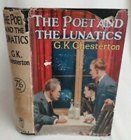 BOOK - *1st Ed* The Poet And The Lunatics By G.K. Chesterton HB 2nd Imp Aug 1929