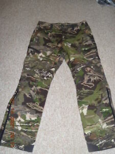 UNDER ARMOUR Cold Gear Stealth Barren Camo wool pants 36X32