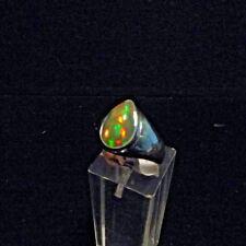 Ring, Gr.55  Silber 925 mit einem Opal Cabochon aus Äthiopien