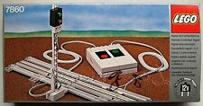 !! Discontinued Lego 7860 12V Remote Controlled Train Signal From 1980 !! MIB !!