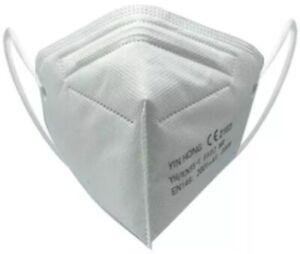 10x Stück FFP2 Maske WEISS Größe S Mundschutz Staubmaske für Jugend Frauen 10x14
