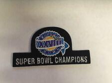 Super Bowl 28 Champions XXVIII Patch Embroidered Football Dallas Cowboys Black