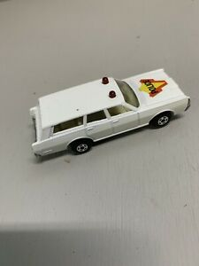 MATCHBOX, SUPERFAST, NO#55, MERCURY POLICE CAR, 1971, MADE IN ENGLAND, LESNEY...