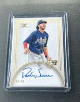 2017 TOPPS DEFINITIVE DANSBY SWANSON GOLD ROOKIE AUTO RC 28/50