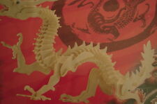 NEW Medieval Dragon 3D Puzzle Wooden Construction Kit