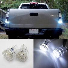 2 Pcs of WHITE 24 SMD LED 3157 3156 for CHEVROLET Front Turn Signal Light Bulbs