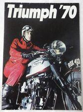 FLYER PUB - TRIUMPH' 70 - Masterful 250 Trophy, Mighty 750 Trident Triple, ...