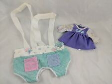 Water Baby Doll Outfit Dress & Twin Carrier Babies