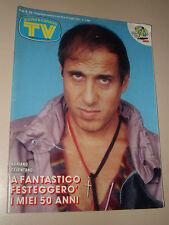 TV SORRISI CANZONI=1987/29=ADRIANO CELENTANO=WHITNEY HOUSTON=ENZO BRASCHI=ROURKE