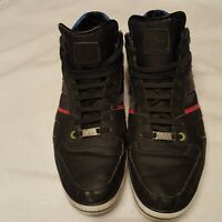 Hugo Boss Black Leather Size 44/11 Sneakers  Shoes