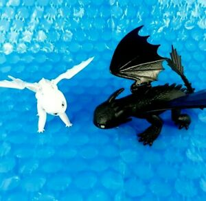 How To Train Your Dragon The Hidden World Toothless & Light Fury Action Figures