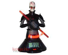 Star Wars Lichtschwert Wecker Uhr Lightsaber Inquisitor Laserschwert Laser Licht