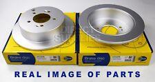 2 X REAR AXLE BRAKE DISCS HYUNDAI HIGHWAY IX35 SANTA TRAJET TUCSON KIA SPORTAGE
