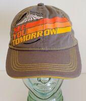 Disney Parks Tomorrowland See You Tomorrow Space Mountain Baseball Cap Hat