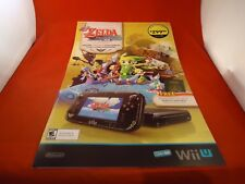 The Legend of Zelda the Windwaker Nintendo Wii U Store Promo Promotional Display
