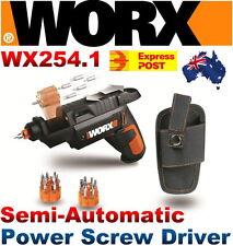WORX WX254.1 SD Semi-Automatic Power Screw Driver 4V Li-Ion w/ 12 Driving Bits