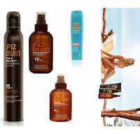 Piz Buin Tan & Protect Tan Oil Spray-Sun Spray-After Sun Tan Moisturising Lotion