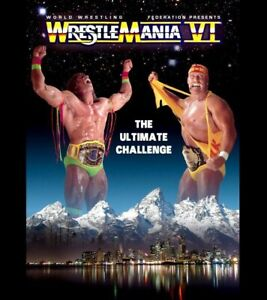Wrestlemania 6 Poster 13x19 Art Print Hulk Hogan Ultimate Warrior High Quality