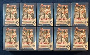 San Francisco Giants - 2021 Bowman Baseball 10 Blaster Box BREAK #244