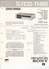 Sony-tc-fx320/fx4060 - Service Manual grafico-b3192