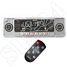 Retro Look Autoradio USB SD/MMC CD Player Design Oldtimer Radio Fernbedienung ch