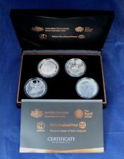 """2015 Silver Proof 4 coin set """"Gallipoli Landing"""" in Case with COA/Outer  (F7/52)"""