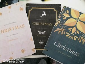 Wax melt empty Advent calendars x5