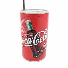 Vintage Coca Cola Can Radio Soccer World Cup 1998