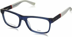 New Authentic TOMMY HILFIGER TH1282 FMW Blue Red White 52/17/140 Eyeglasses