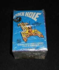 1979 Topps DISNEY'S The Black Hole Trading Card Set 88 Card / 22 Sticker Nm-Mt