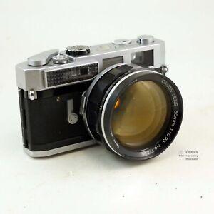 Canon 7 35mm Rangefinder Film Camera w/ 50mm f/0.95 Lens body#939380 Lens #17296