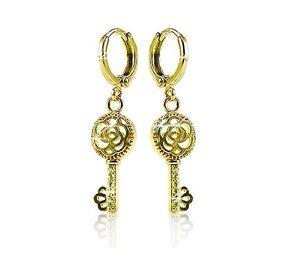 Fine & Fashion Jewelry Stainless Steel Huggie Earrings.