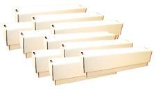 10 Caja Almacenamiento (Blanco, Pequeño) para Aprox. 10.000 Cartas Aller Tallas