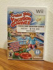 Cruise Ship: Vacation Games (Nintendo Wii, 2009)