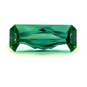 1.03ct Teal Color Tourmaline, Scissor Cut IF Natural Gemstone *Watch Video*
