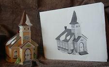 Dept 56 Snow Village/Heritage Village/New England-Sleepy Hollow Church