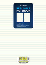 Filofax Refillable NOTEBOOK Refill - A5 Size - Ruled White Paper 152008
